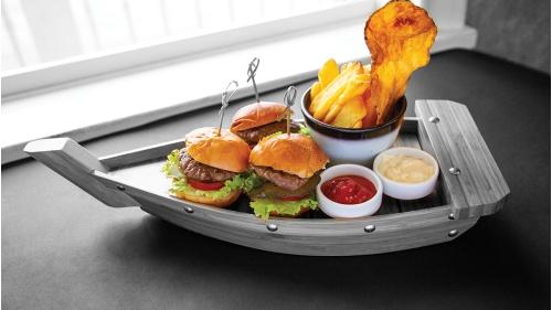 Mini Üçlü Burger