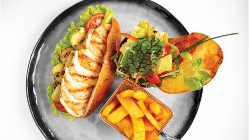 Izgara Tavuk Sandviç