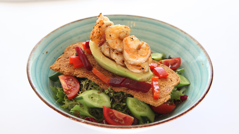 Karidesli Avokado Salata Resim 1